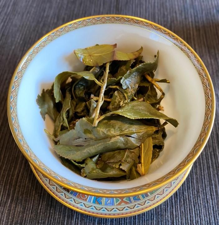 阿里山高山茶の茶殻
