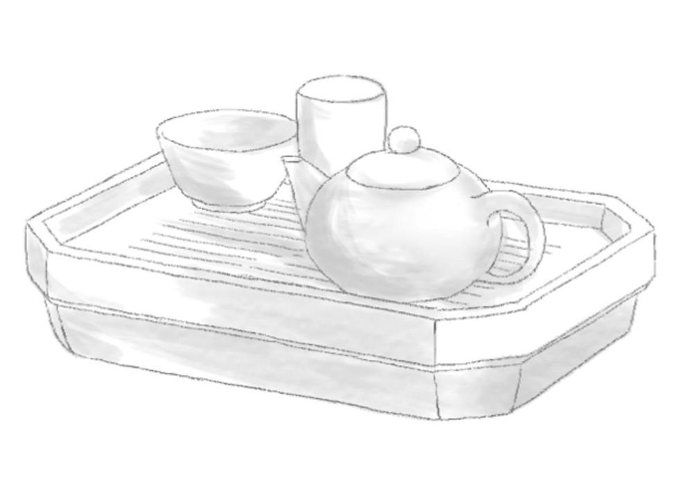 中国茶 茶盤 茶器