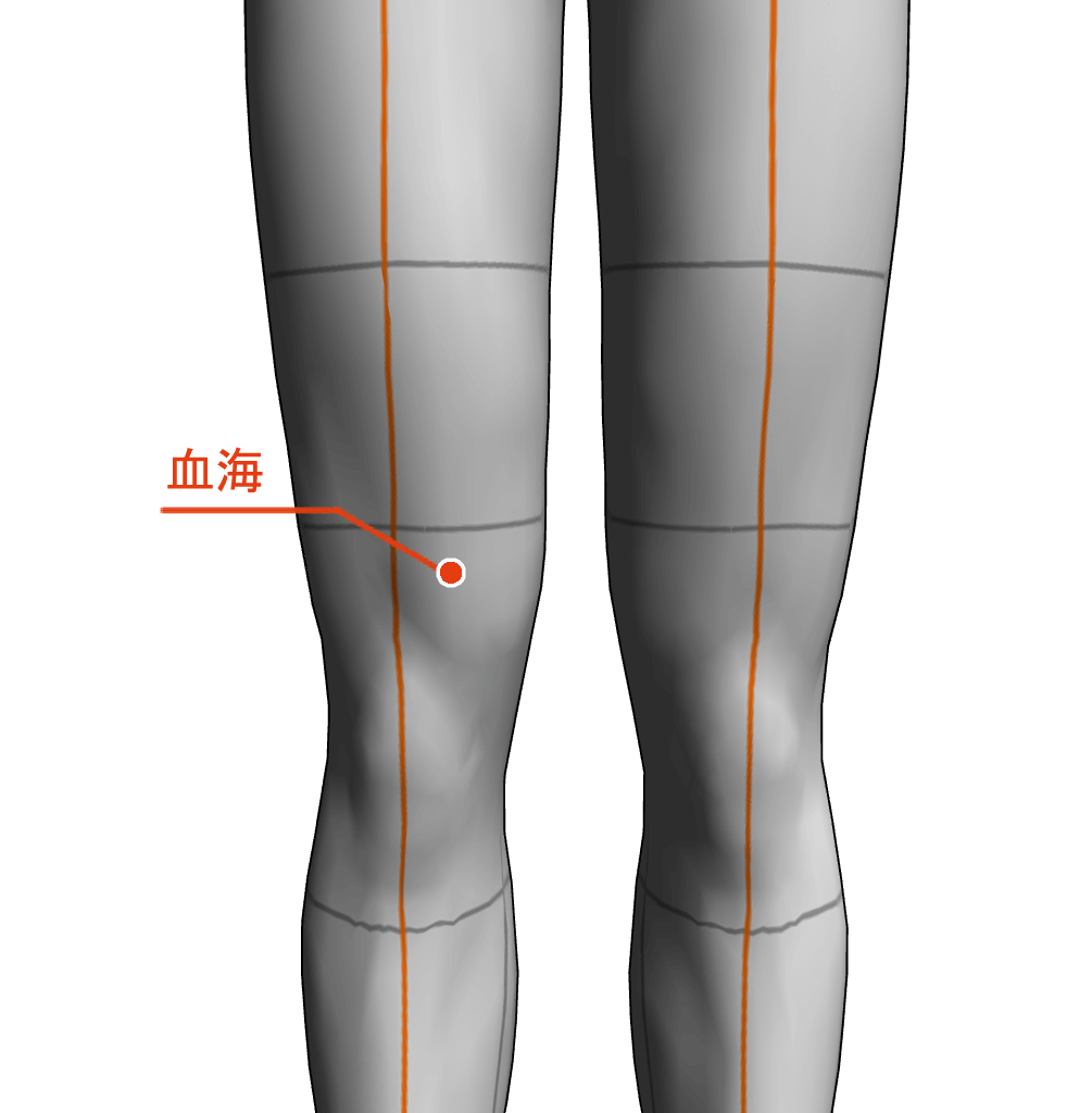 血海 ツボ 経絡 経穴