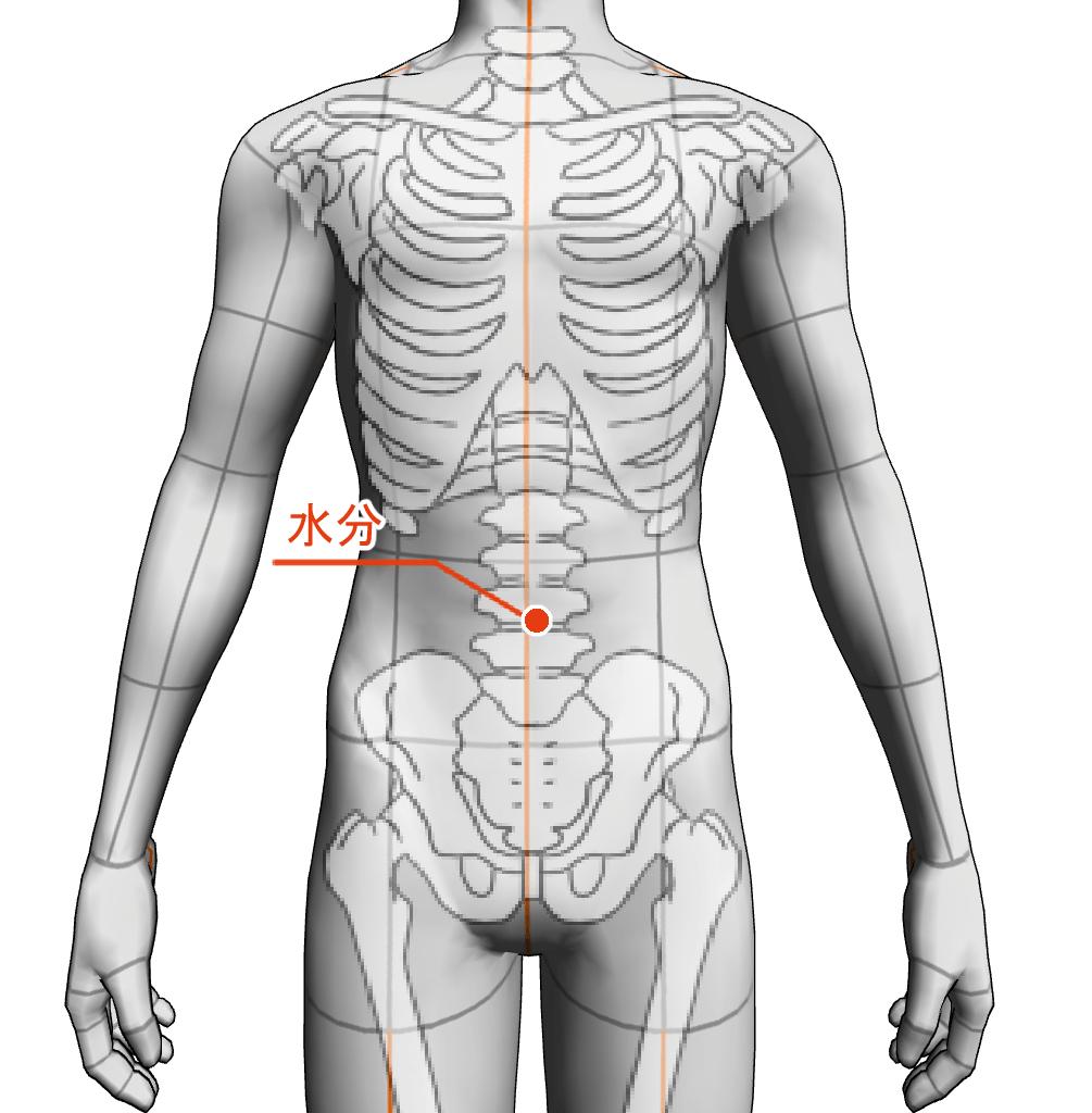 水分 ツボ 経絡 経穴