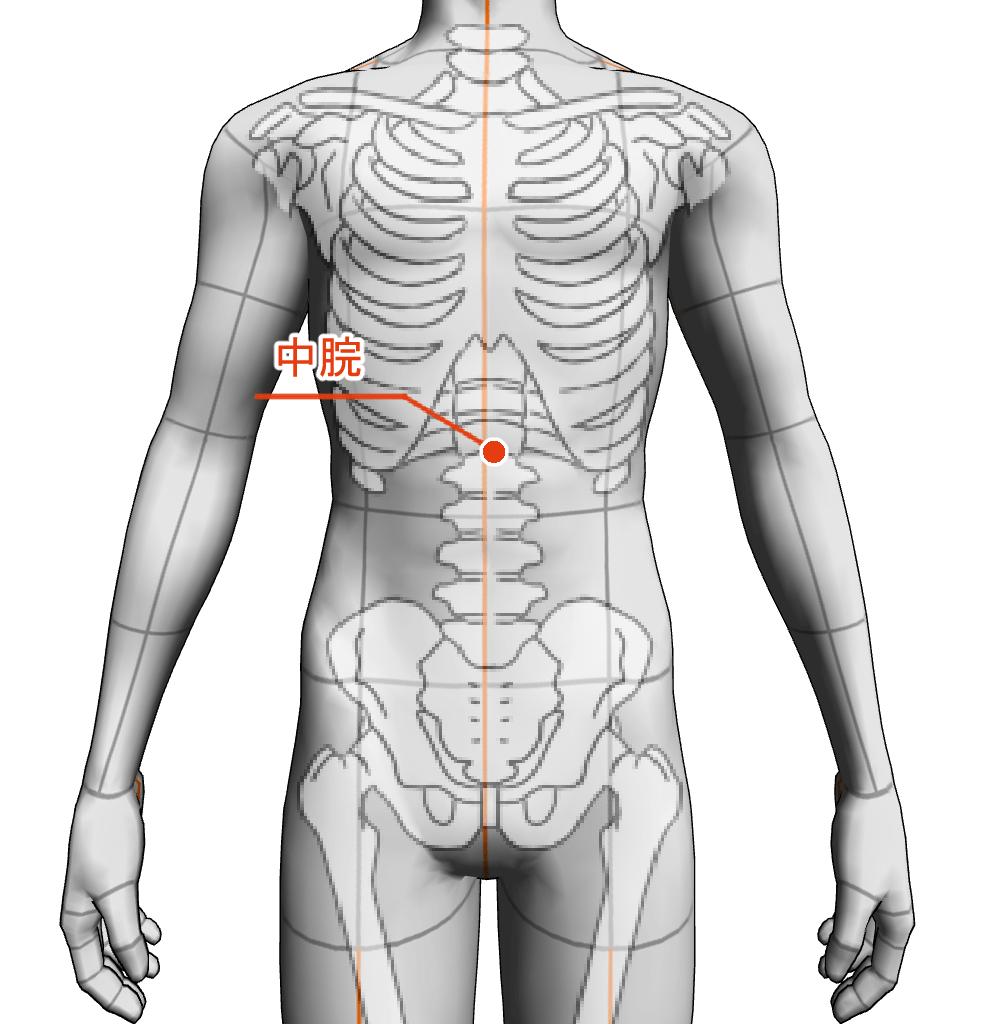 中脘 ツボ 経絡 経穴