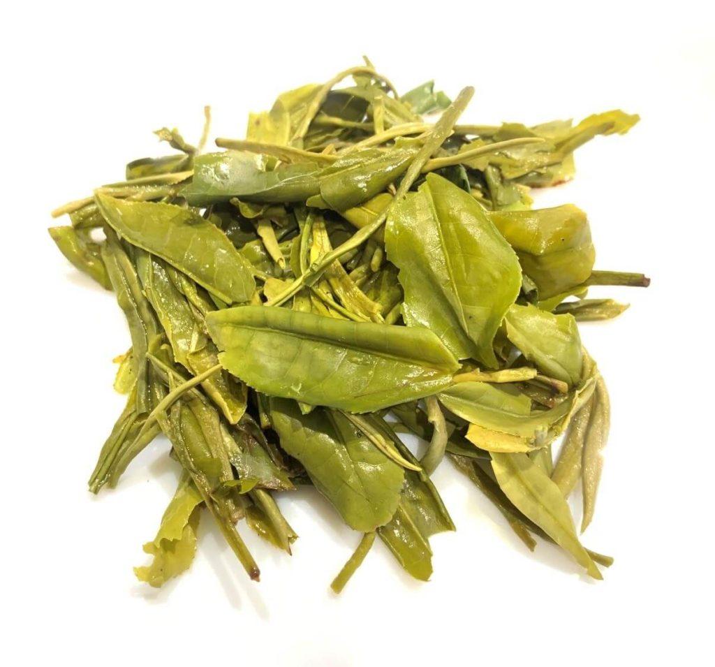 西湖龍井 新茶 茶殻