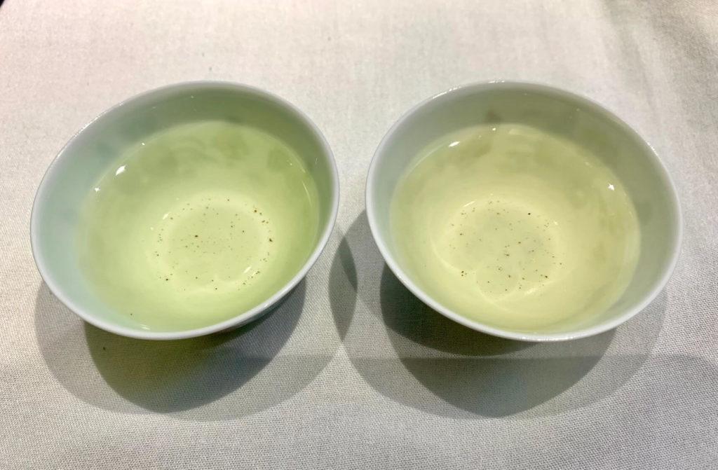 西湖龍井 新茶 茶葉 水色