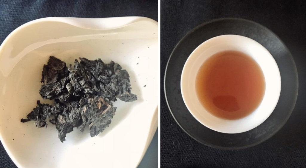 (E)50年モノのヴィンテージ普洱生茶 黒茶 中国茶