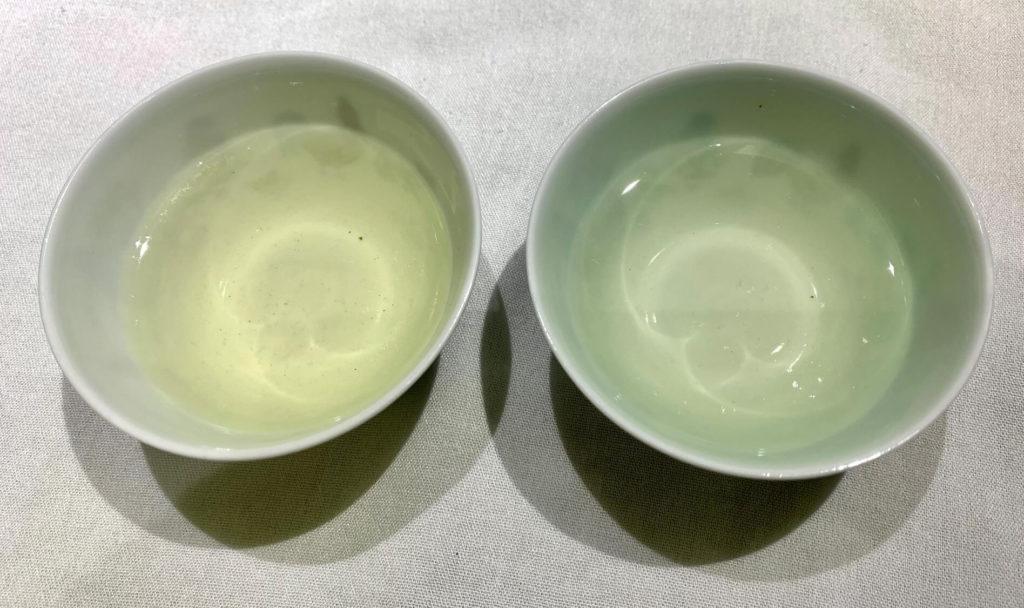 西湖龍井 獅峰龍井 中国緑茶 中国茶 水色