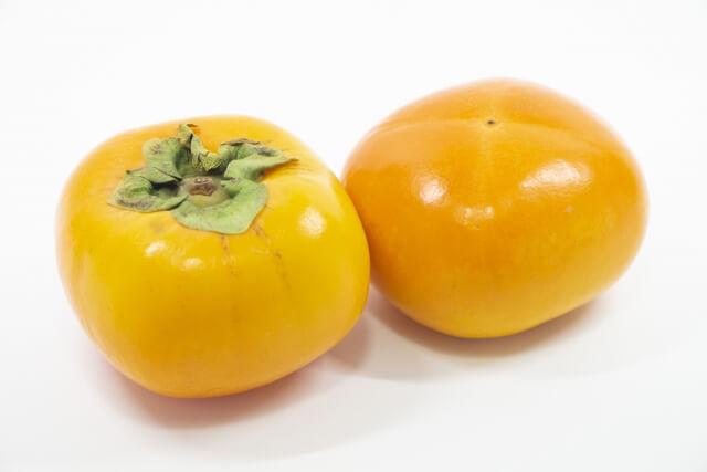 柿(かき) 霜降 晩秋