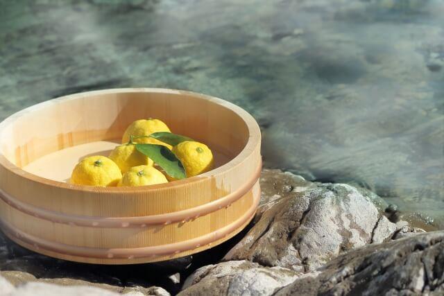 柚子湯 冬至 仲冬