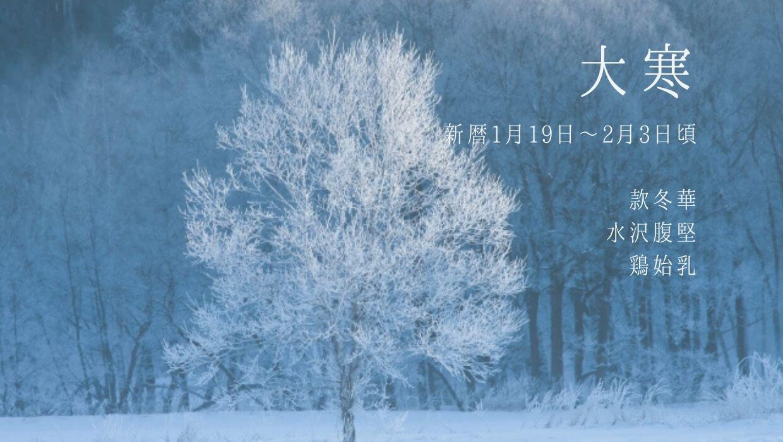 大寒】イベント・行事、食べ物、草花まとめ | 二十四節気・七十二候 ...