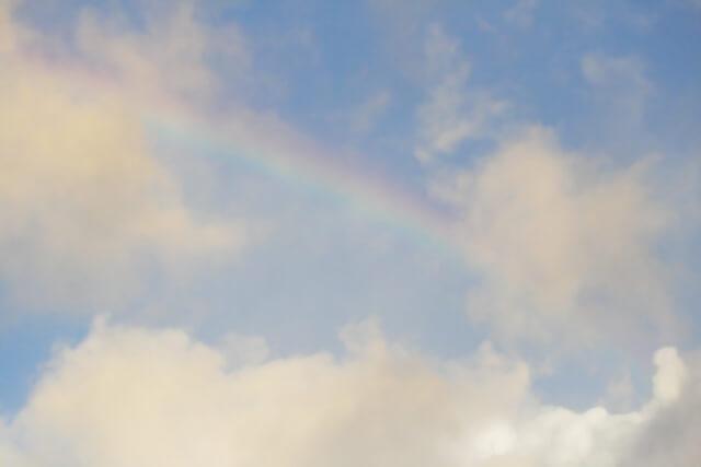 第十五候 虹始見 (にじはじめてあらわる) 清明 晩春